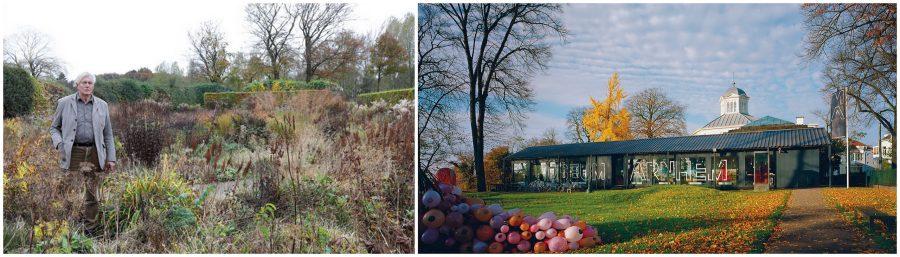 Piet Oudolf in zijn tuin in Hummelo / Museum Arnhem