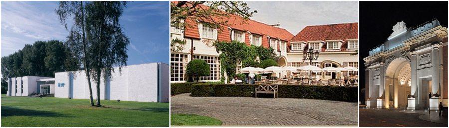 Museum Dhondt-Dhaenens / Auberge du Pêcheur, Sint-Martens-Latem / Menen-poort, Ieper