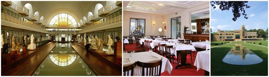 Museum La Piscine / Restaurant Meert, La Piscine / Villa Cavrois, Roubaix